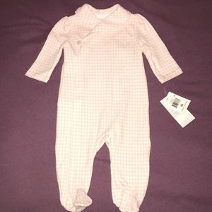 New with tags Ralph Lauren Baby Girl pajamas